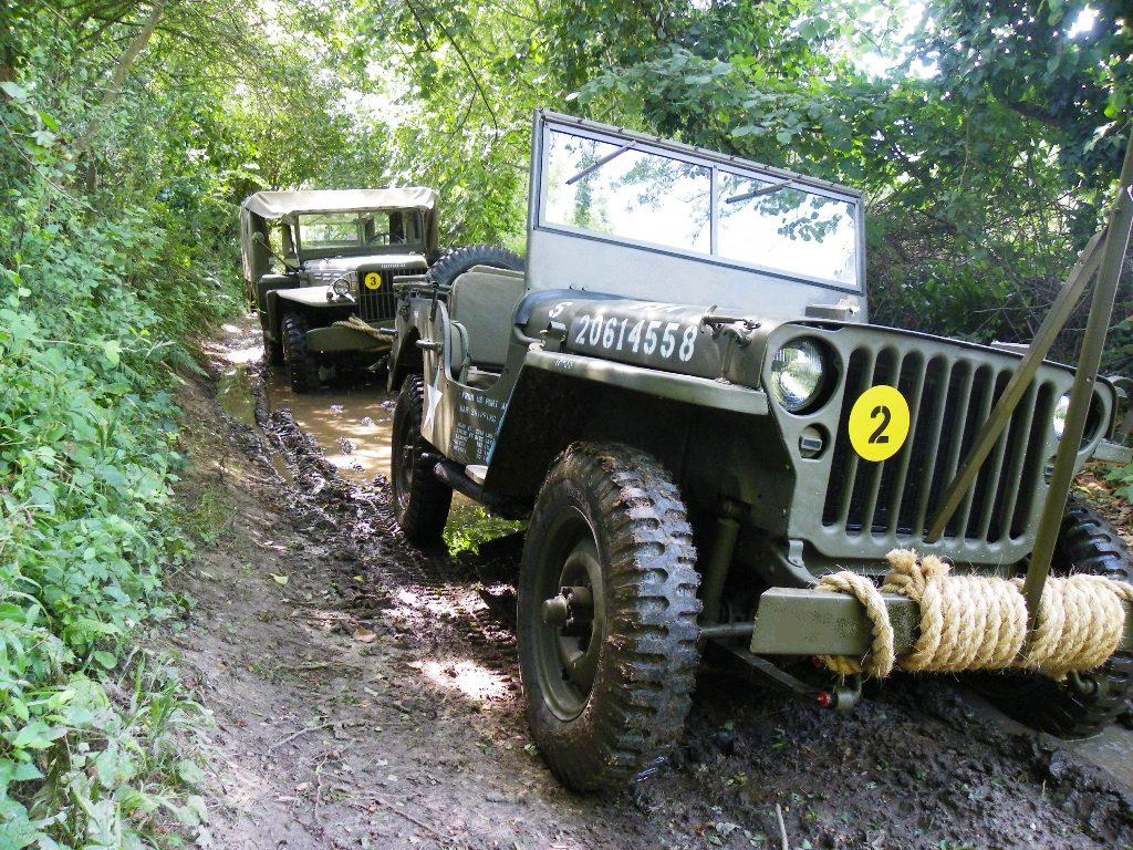 Jeep & Dodge, купите или отреставрируйте свою технику, а также испробуйте ее на дорогах Нормандии…