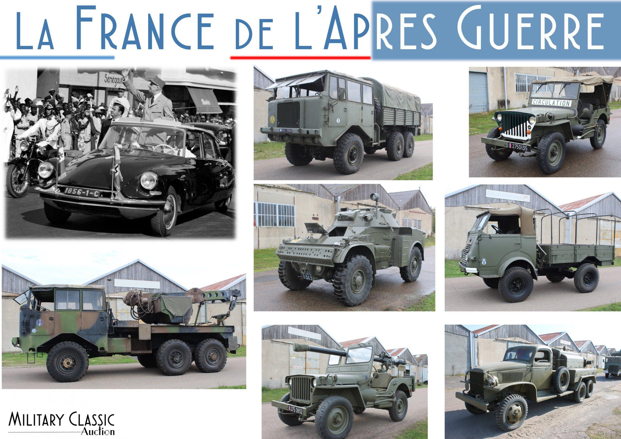 «The France post ww2 » Collection Michel Burkhardt